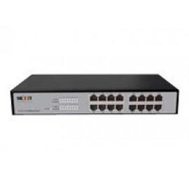 Nexxt ASFRM164U1 - Conmutador  - 16 x 10/100