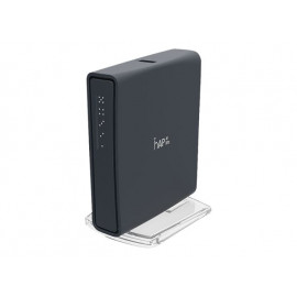 MikroTik RouterBOARD hAP ac lite RB952UI-5AC2ND - Punto de acceso inalámbrico - 100Mb LAN