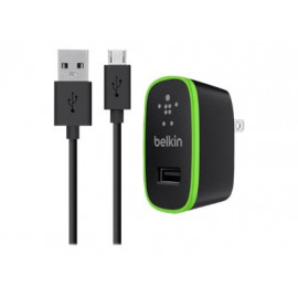 Belkin Universal Home Charger with Micro USB ChargeSync Cable - Adaptador de corriente - 10 vatios