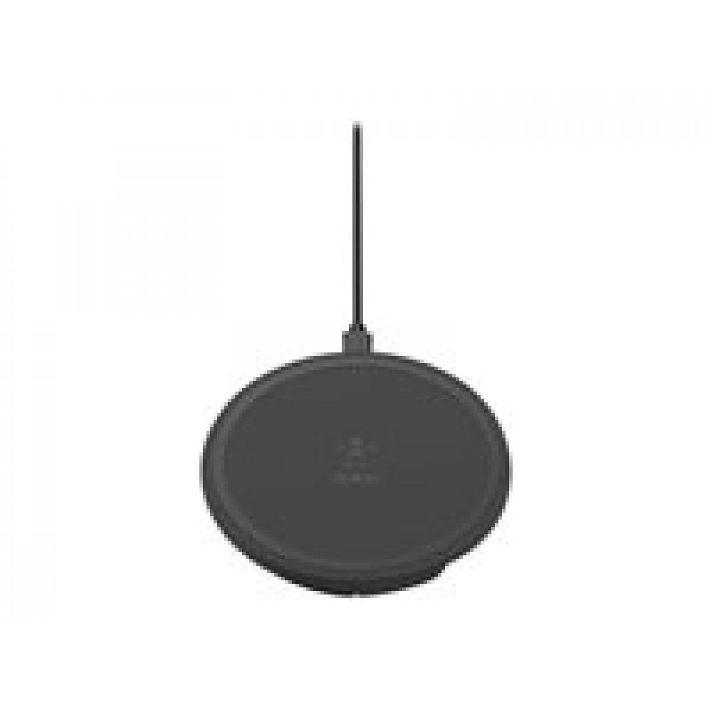 Belkin BOOST UP Wireless Charging Pad - Base de carga inalámbrica + adaptador de corriente CA - 10 vatios
