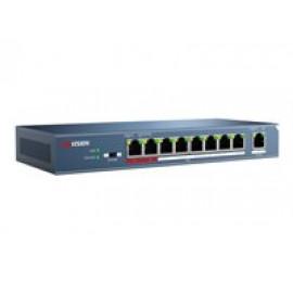 Hikvision DS-3E0109P-E - Conmutador - sin gestionar