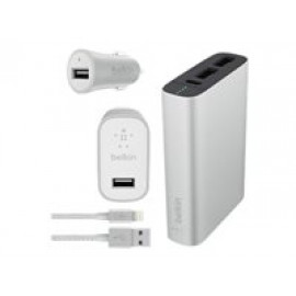 Belkin Metallic Colormatch Charge Kit - Cargador portátil 6600 mAh - 3.4 A
