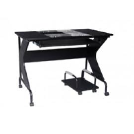 Computer Desk Black- Lombardi