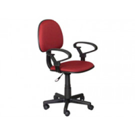 Computer Chair w/ Arm Rest (Red)