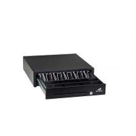 Bematech Logic Controls Cajon de Dinero - Negro - RJ-12 Cable Universal Incluido Para Conectar a Impresoras POS