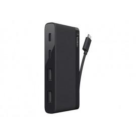 Belkin USB-C 4-Port Mini Hub - Hub - 4 x SuperSpeed USB 3.0