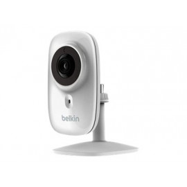 Belkin NetCam HD+ Wi-Fi Camera with Glass Lens and Night Vision - Cámara de vigilancia de red - color (Día y noche)