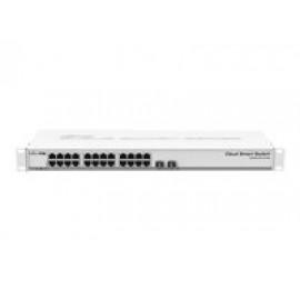 MikroTik Cloud Smart Switch CSS326-24G-2S+RM - Conmutador - inteligente