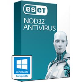 ESET NOD32 Antivirus - License and media - CD-ROM (DVD-box)