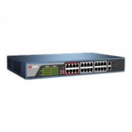 Hikvision DS-3E0326P-E - Conmutador - sin gestionar