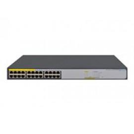 HPE 1420-24G-PoE+ (124W) Switch - Conmutador - sin gestionar