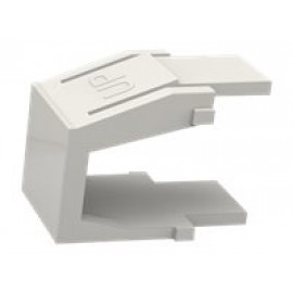 Furukawa - Inserción modular (en blanco) - blanco (paquete de 10)