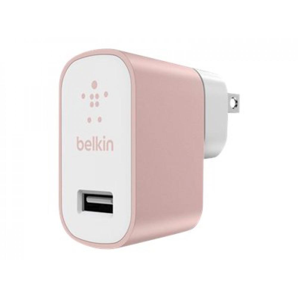 Belkin Metallic Home Charger - Adaptador de corriente - 2.4 A (USB)