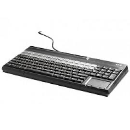 HP POS Keyboard with Magnetic Stripe Reader - Teclado - USB