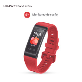Huawei Banda 4 Pro - Activity tracker - Red