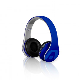 Audifono/mic Bluetooth ARG-HS-2552BL ULTIMATE SOUND VIBE BT BLUE ARGOM
