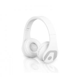 Audifono/mic Bluetooth ARG-HS-2552WT ULTIMATE SOUND VIBE BT WHITE ARGOM