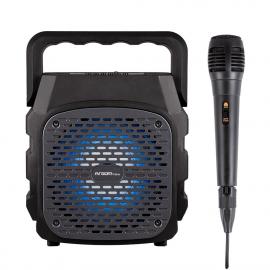 SPEAKER ARGOM ARG-SP-3042BK RUMBA BOX K6 WIRELESS BT TWS 15000MW RMS SD SLOT USB MIC.INCLUIDO A00481