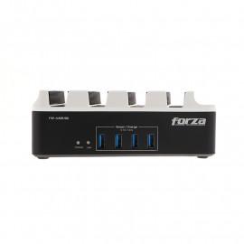 Protector de sobretensión - Forza - USB y Tomacorriente