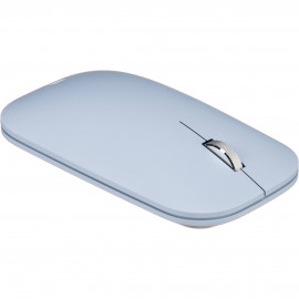Microsoft Modern Mobile Mouse - Ratón - diestro y zurdo - óptico - 3 botones - inalámbrico - Bluetooth 4.2 - azul pastel