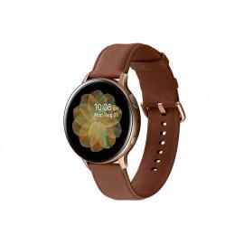 Kit promoción - Samsung Active 2 Gold - Brazalete Café y un par de audífonos o un Samsung Galaxy Fit negro