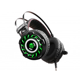HEADSET GAMING TURBINE LED GREEN COLOR ETOUCH