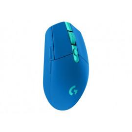 Logitech G305 - Ratón - óptico - 6 botones - inalámbrico - LIGHTSPEED - receptor inalámbrico USB - azul
