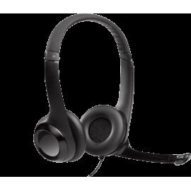 Audífonos USB Logitech H390 - micrófono con supresión de sonido