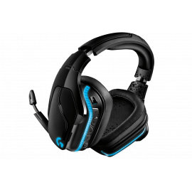 Logitech G935 - Auricular - 7.1 canales - tamaño completo - 2,4 GHz - inalámbrico - conector de 3,5 mm - negro, azul