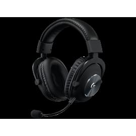 Logitech G Pro X with Blue VO!CE Technology - Auricular - tamaño completo - cableado - conector de 3,5 mm - aislamiento de ruido - negro