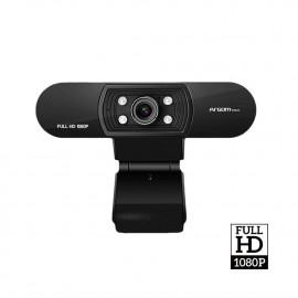 CÁMARA WEB FULL HD 1080P CON MICRÓFONO Y LED CAM50